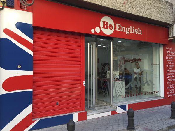 Be English