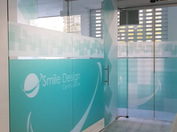 Smile Design rotulación interior